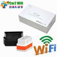 2018 Vgate WiFi iCar 2 OBDII ELM327 100% Original iCar2 WiFi Vgate Obd Für iOS/Android PC 2 Jahre garantie