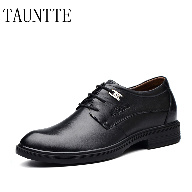 Genuin Leather Men Formal Shoes Anti-odor Dress Wedding Shoes ...