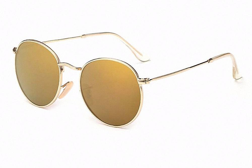 Glexal Рыбалка вождения металлический каркас очки Для мужчин Для женщин отражающей линзы улица оснастки серебристый очки