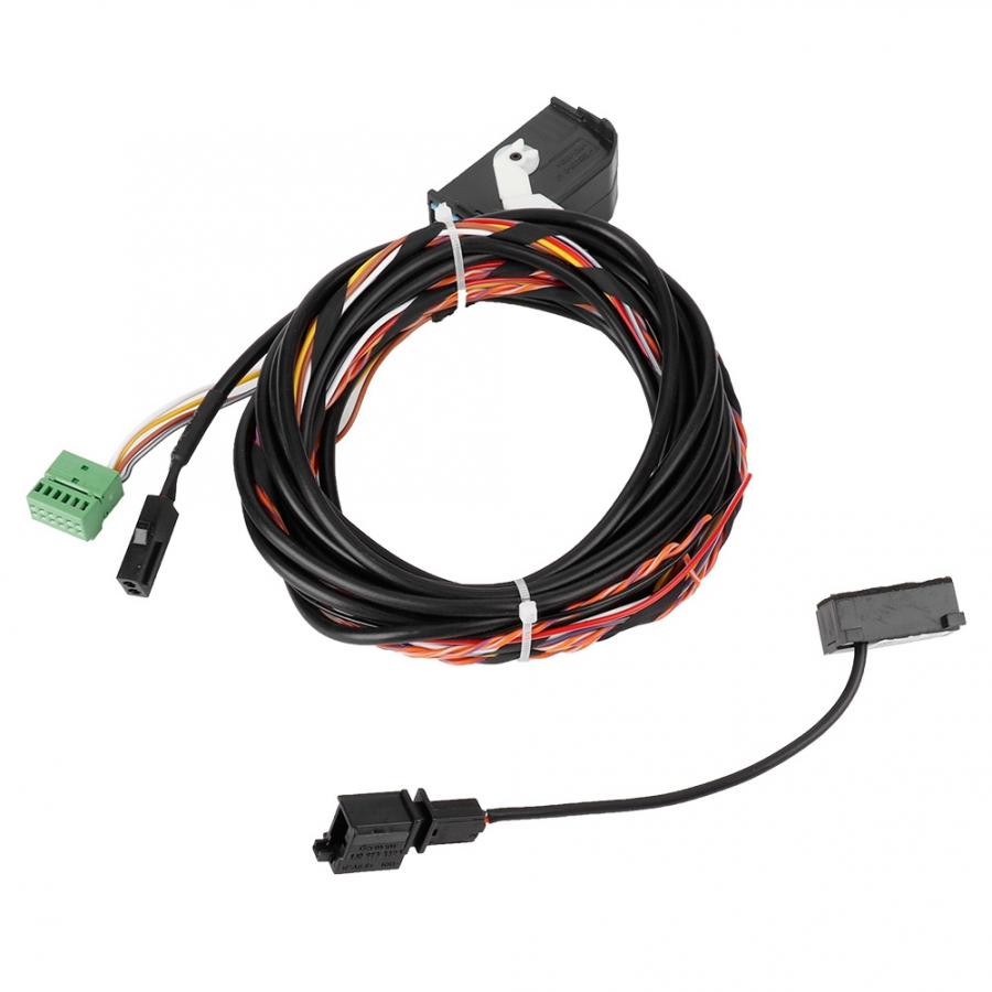 Bluetooth Wiring Harness Cable Microphone Kit Fit For RCD510 RNS510 GOLF 8X0035447A Microphone Bluetooth Harness