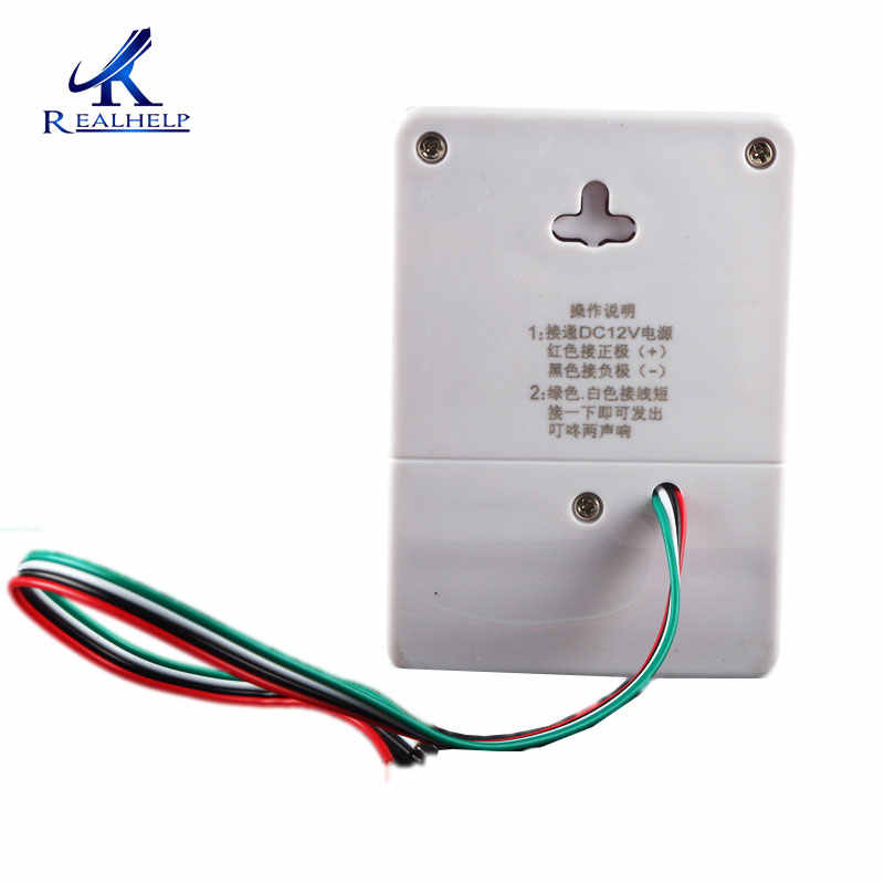 Detail Feedback Questions about 12V DC Wired Doorbell with 4 wires