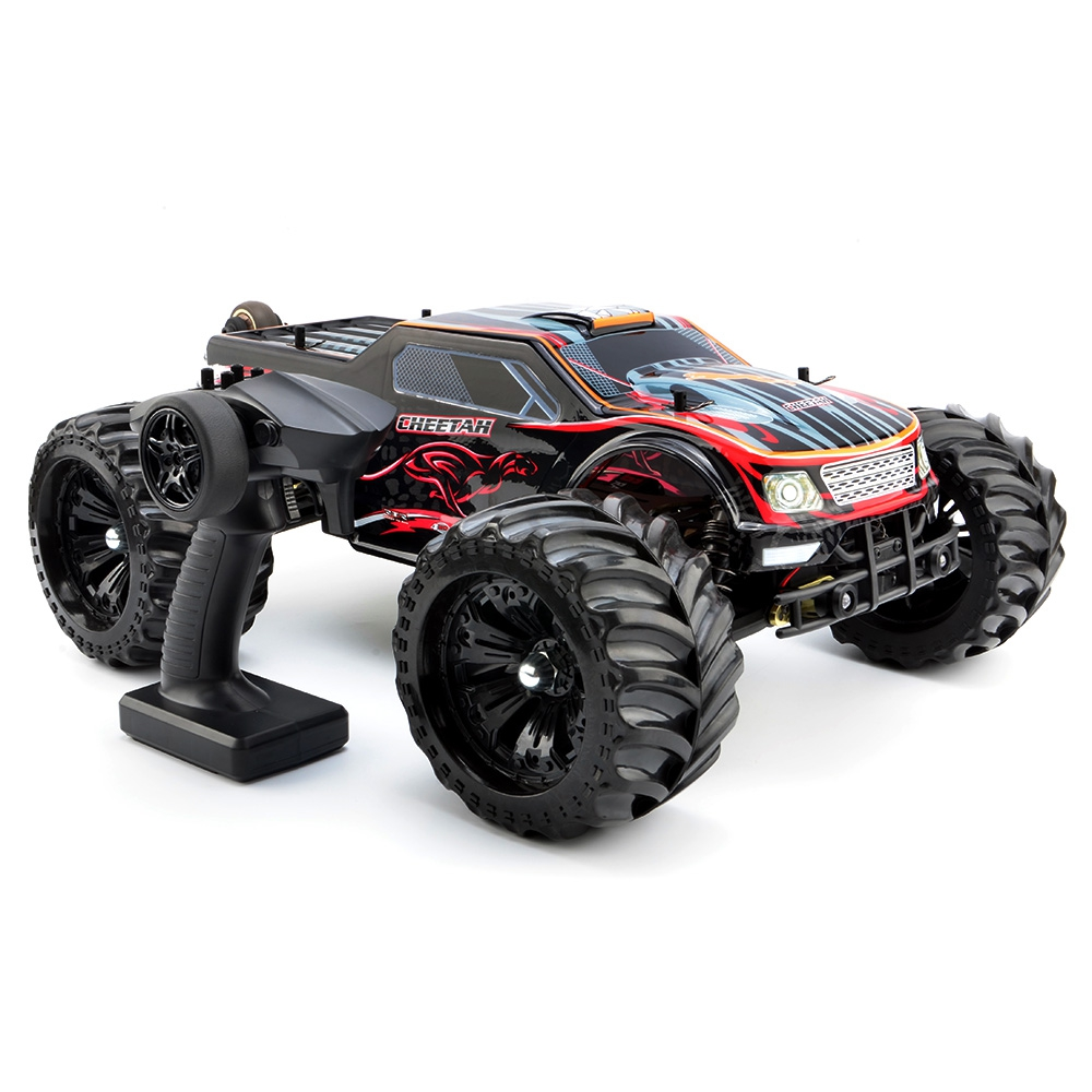 JLB RC Cars 2.4G Cheetah 4WD 1 / 10 80km / h High Speed Buggy RC RTR Car 4 Wheel Drive Design Brushless Motor & Wltoys A979/A959 jlb racing cheetah 1 10 brushless rc car truggy 21101 2pcs wheel