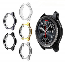 Case Cover For Samsung GearS3 New Frontier Purpose Bumper/Galaxy Watch46/42mm Soft TPU Plated All-Around Protective Cases Frames