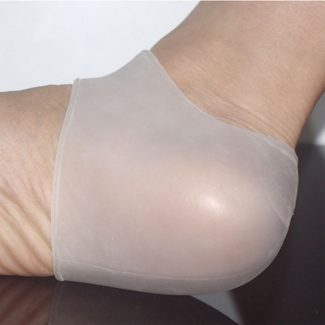 Shock Absorbing Silicone Gel Heel Sleeve 2
