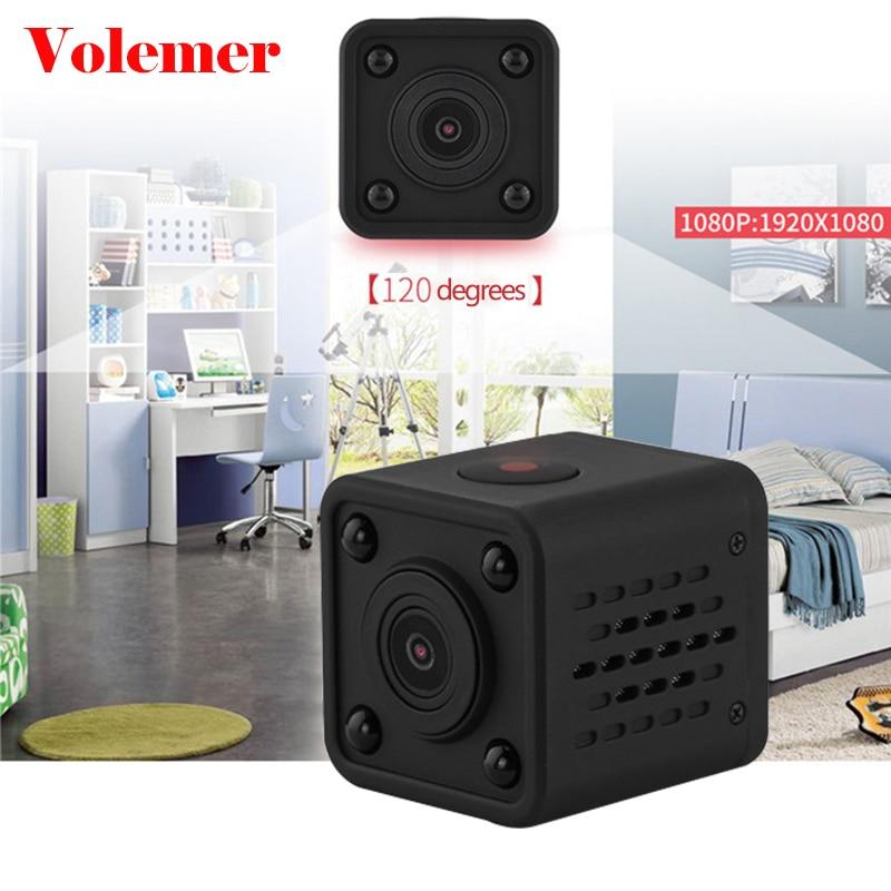 Volemer WIFI Mini IP Camera Full HD 1080P Infrared Night Version Motion Sensor DV Camcorder Digital Camera Mini DVR Flexible Cam