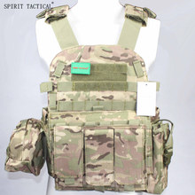 LBT6094A Style Vest Body Armor With Pouches Airsoft Paintball Military Army Combat Gear Hunting Vests(China)
