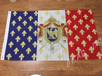 Free Shipping Royal Standard Napoleon France Flag 150X90CM Polyester Banner Custom Flag Outdoor