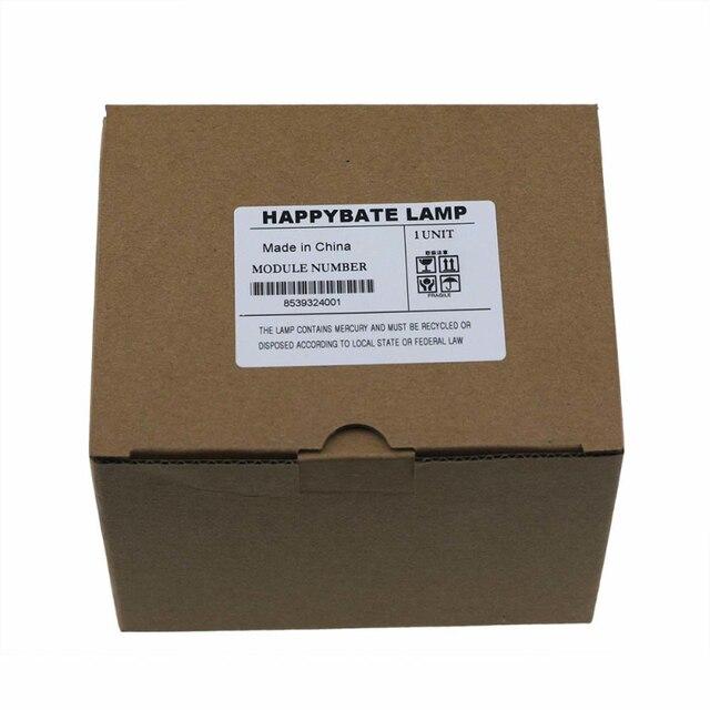 Proyectores bulbo/foco lámpara ELPLP42 para H371A PowerLite 83c PowerLite 400W PowerLite 822P PowerLite83 + 83C EB-410WE EMP-400WE happybate