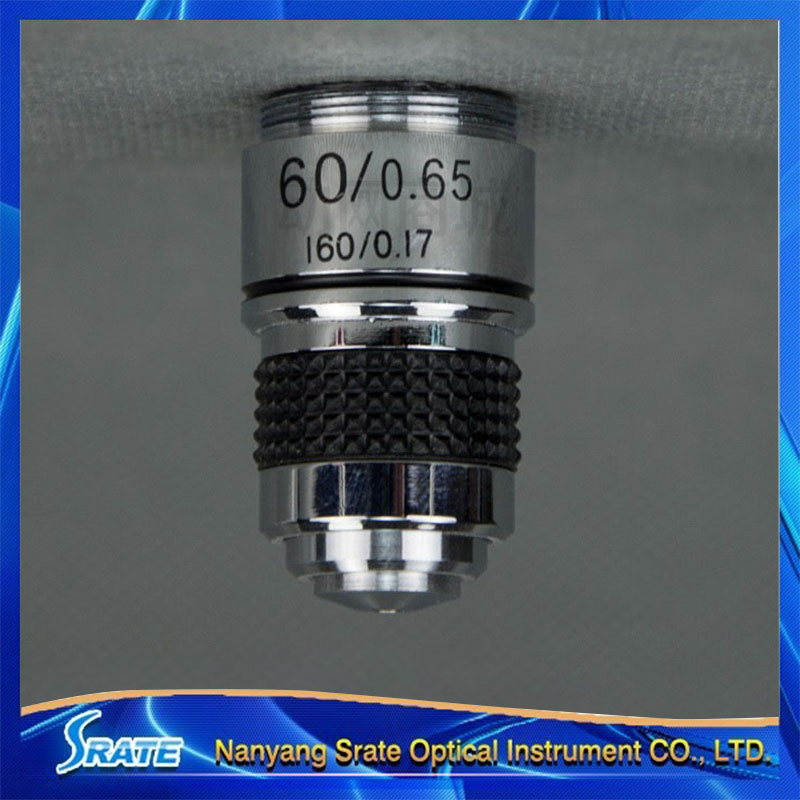 60X  185 Biological Microscope Achromatic Objective Lens  60/0.85 160/0.17 w/ Spring  цены