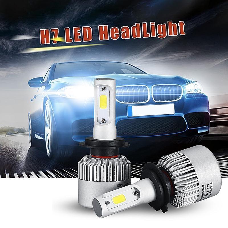 Led auto HB4 / 9006 Canbus pentru far auto putere 60W, luminozitate 8000 Lm, 12V