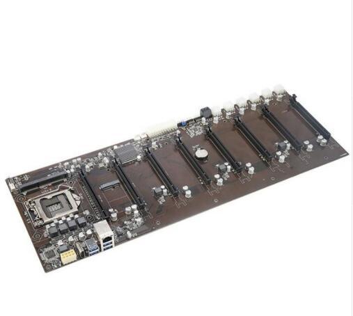 100% New origina B250 BTC-D8P B250-BTC VER:1 Motherboard LGA1151 DDR3 8PCI-E Slots for Coin Mining Crypto Mining B250-D8P-D3 все цены