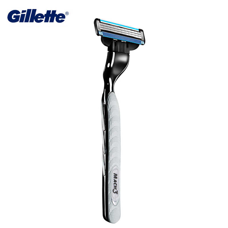 Men's Gillette Mach 3 Razor Blades Shaving Cassette for Face Hair Cut Replaceable Razor Blades Head Safe Refill Cartridges Mach3