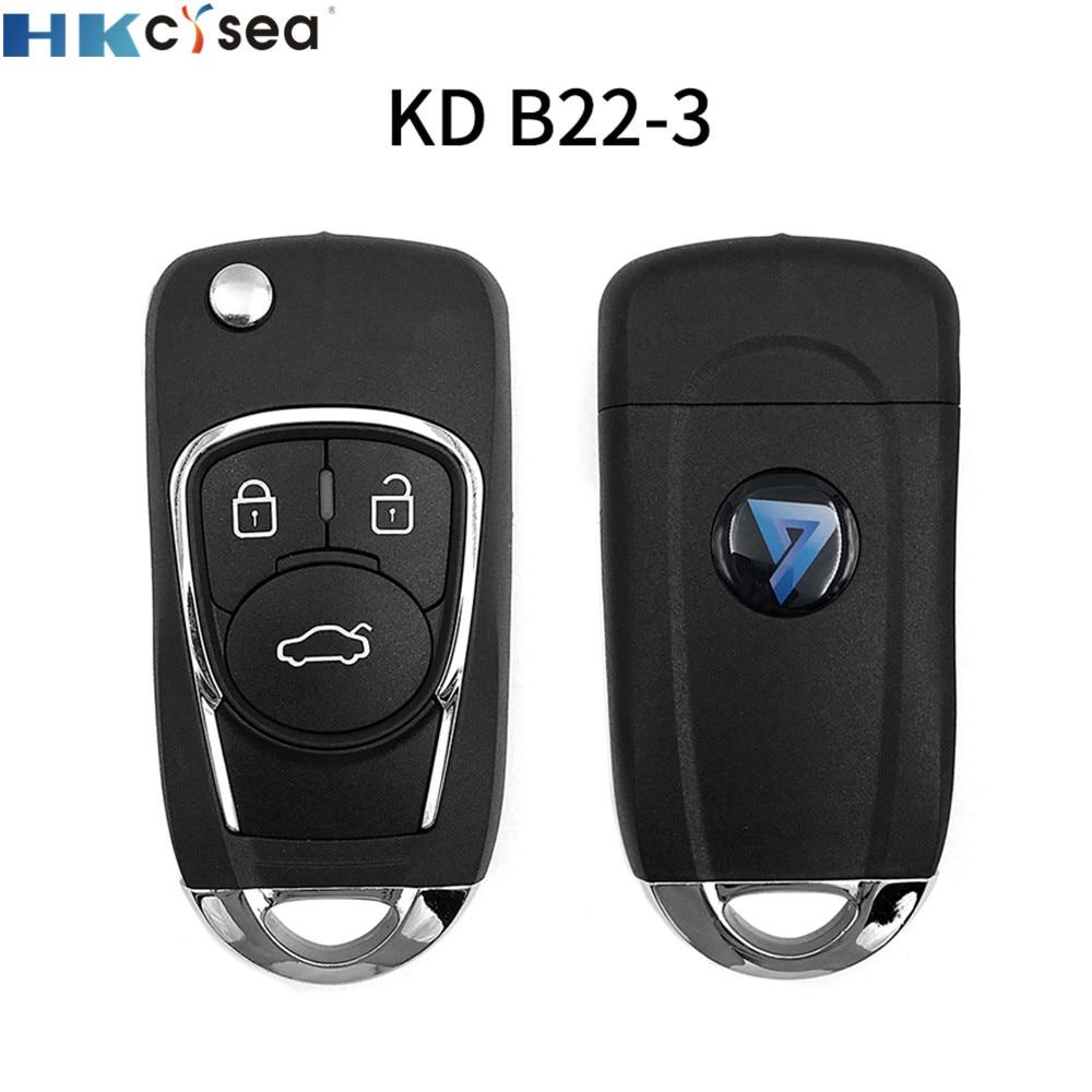 HKCYSEA 2pcs/lot B22-3/4 Universal KD Remote For KD-X2 KD900 Mini KD Car Key Remote Replacement Fit More Than 2000 Models
