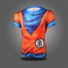 Anime Dragon Ball Z Super Saiyan Roleplay Goku 3D T shirt