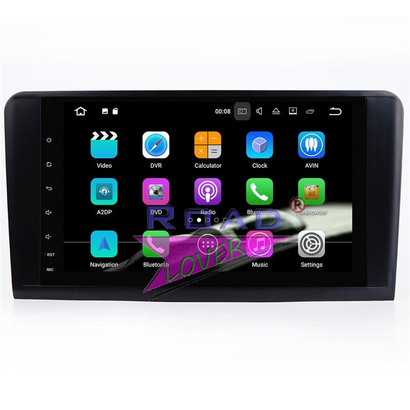 Lecteur de Navigation GPS de voiture TOPNAVI Android 7.1 pour Mercedes Benz ML classe W164 ML350 ML430 ML450 ML500 GL320/r-class W219 stéréo - 5