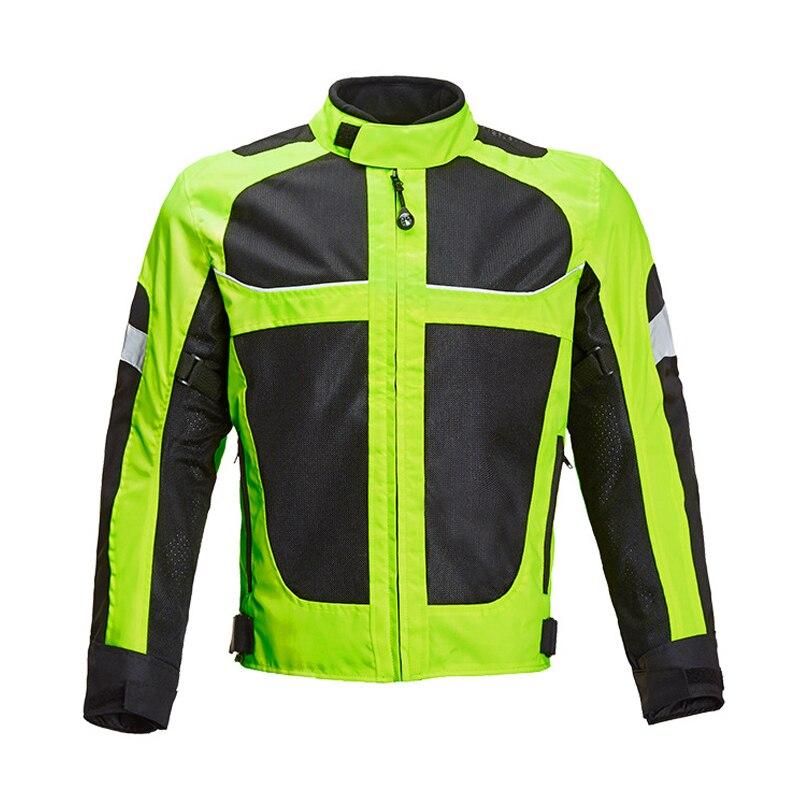 Veste de Moto LYSCHY veste d'équitation de Moto veste respirante pour Moto Moto Cross vêtements de Moto d'été - 3