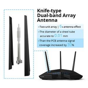 Image 3 - Tenda AC18 Gigabit Wireless Wifi Router 1900Mbps Dual Band 2,4/5 GHz 11AC Gigabit Wi Fi Repeater Broadcom CPU DDR3 USB 3.0 IPV6
