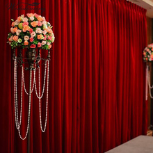 New 6mx3m Velvet Wedding Party Backdrop Stand Curtain Frozen Birthday Decorations Adult Arch Customized