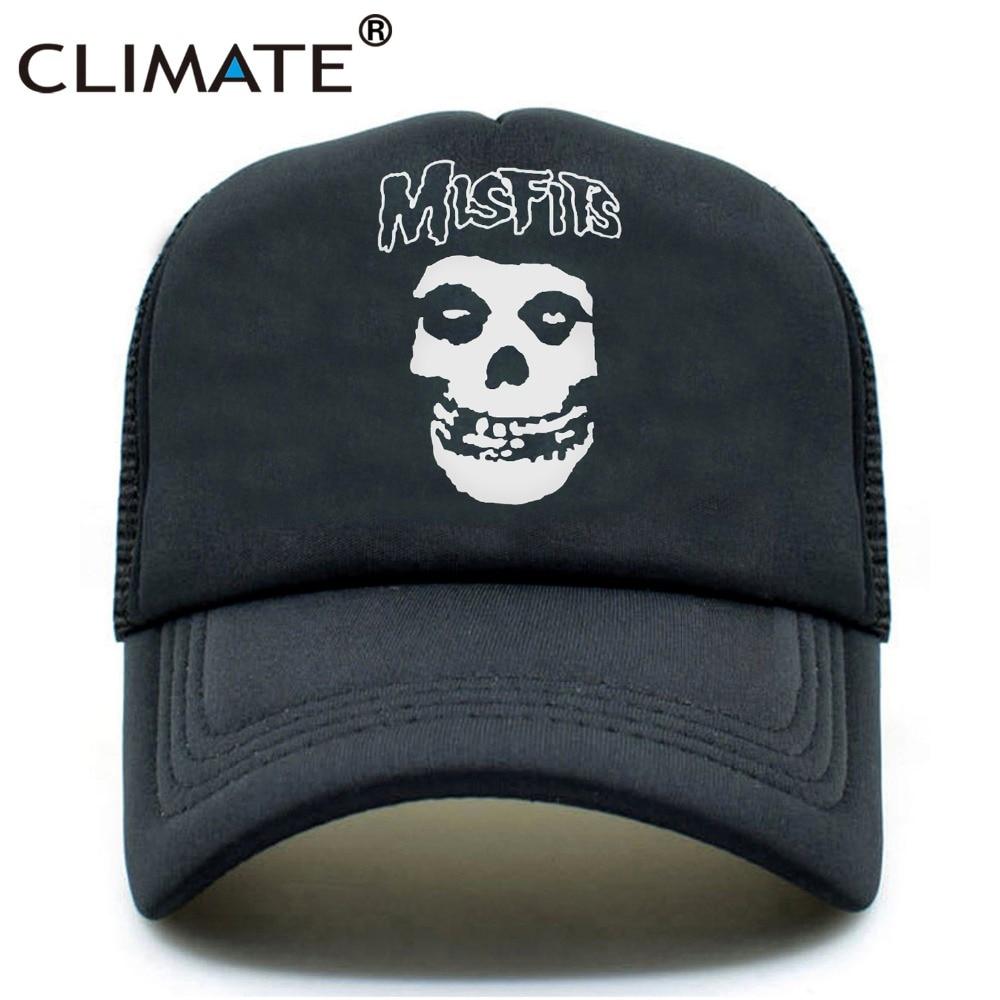 IKLIM Misfits Band Skulls Summer Cool Mesh Caps The Misfits Punk - Aksesori pakaian - Foto 1