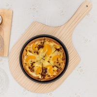 PREUP de madera Pizza Peel Color Natural placa pastel sirviendo Junta panqueque hornear corte soporte piedras de Pizza herramientas de cocina