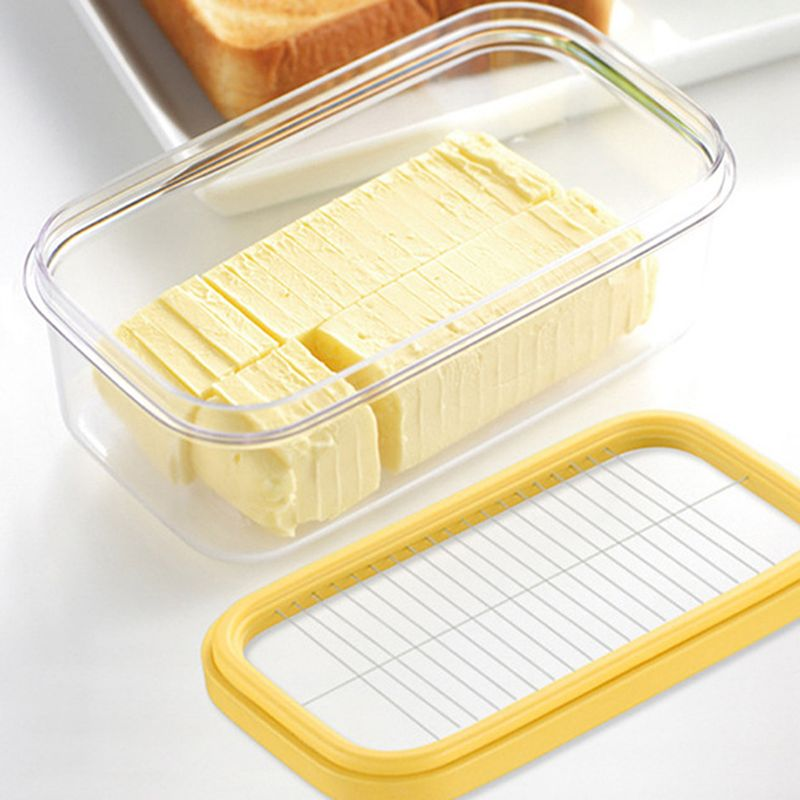 Storage Container Butter Kitchen-Accessories Cheese-Glass Bread-Cake Stainless-Steel