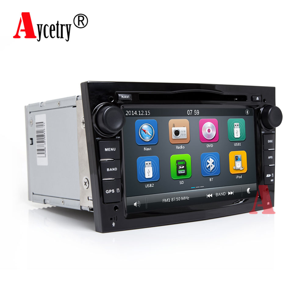 aycetry 2 din car dvd multmedai player gps radio for opel. Black Bedroom Furniture Sets. Home Design Ideas