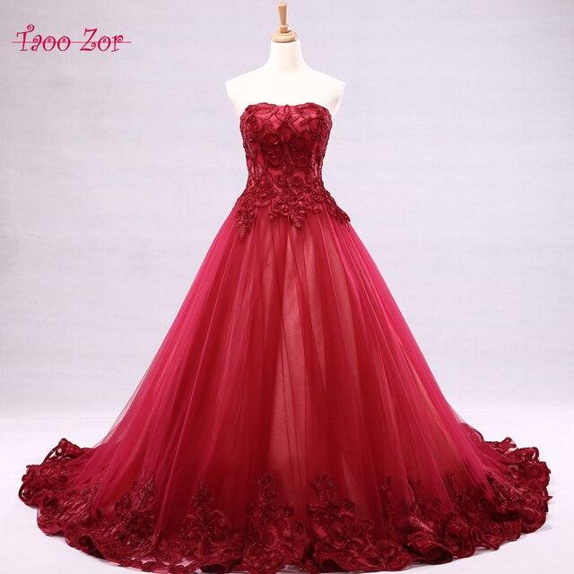 vestidos de novia con flores rojas – mini vestidos