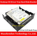 New Arrivals 3.5  to  5.25  Desktop CD Driver Tray Hard Disk Bracket  SSD and HDD Conversion Bracket   Giving away screws