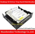 Os Recém-chegados 3.5 a 5.25 Driver de CD Bandeja Suporte de Disco Rígido SSD e HDD de Desktop Suporte de Conversão dando parafusos