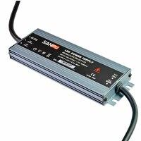 Ultra thin IP67 Waterproof Power Supply DC 12V 24V Lighting Transformer 60/100/120/150/200/250/300W LED Driver For LED Strip