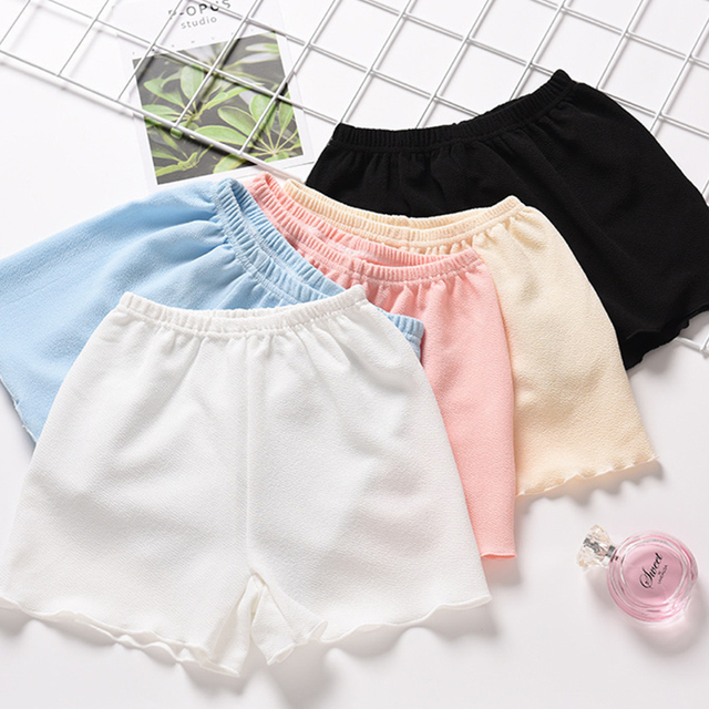 Casual Solid Color Short Leggings High Quality Cotton Women's Shorts Leggings women's Clothing
