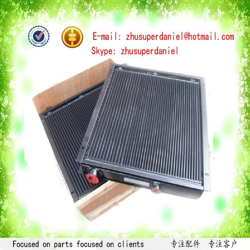 WJIER 02250122-218 double screw air compressor oil cooler water cooler radiator heat exchanger wjier blt 7 bolaite screw compressor air cooler radiator heat exchanger 1625165924