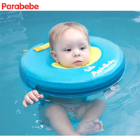37X37CM Non Inflatableswimming baby accessories swim neck ring baby Tube Ring Safety neck float circle for bathing Never leak