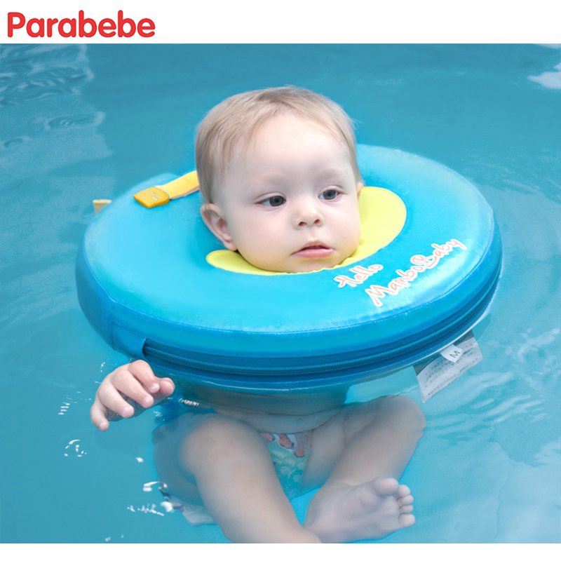 37X37CM Non-Inflatableswimming baby accessories swim neck ring baby Tube Ring Safety nec ...
