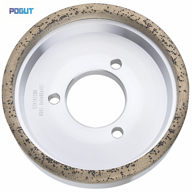 HIGH QUALITY Diamond Wheel 150*10*10, Diamond wheel for glass straight edge machine and double edge machine 1piece electroplated diamond grinding wheel dia 65mm hole 22mm for round and straight 3 12mm glass edge tz74