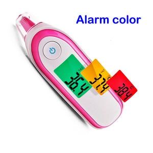 Image 5 - Medical Fingertip Pulse Oximeter Ear forhead Infrared Thermometer Digital portable Family Health Care Spo2 PR oximetro de pulso