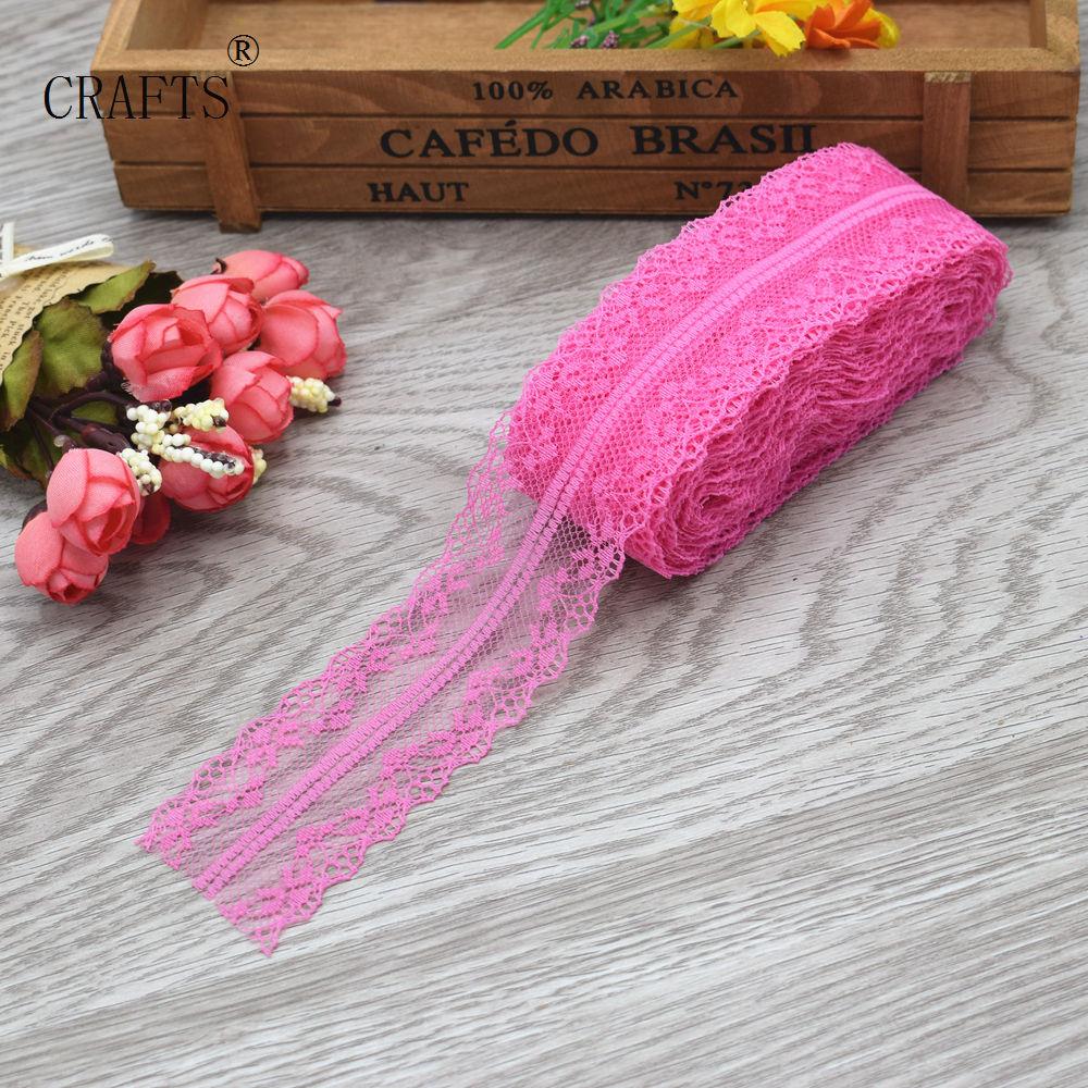 HTB1C0MLcljTBKNjSZFwq6AG4XXag New! 10 yards beautiful lace ribbon, 3.8 cm wide, DIY decoration accessories, holiday decorations