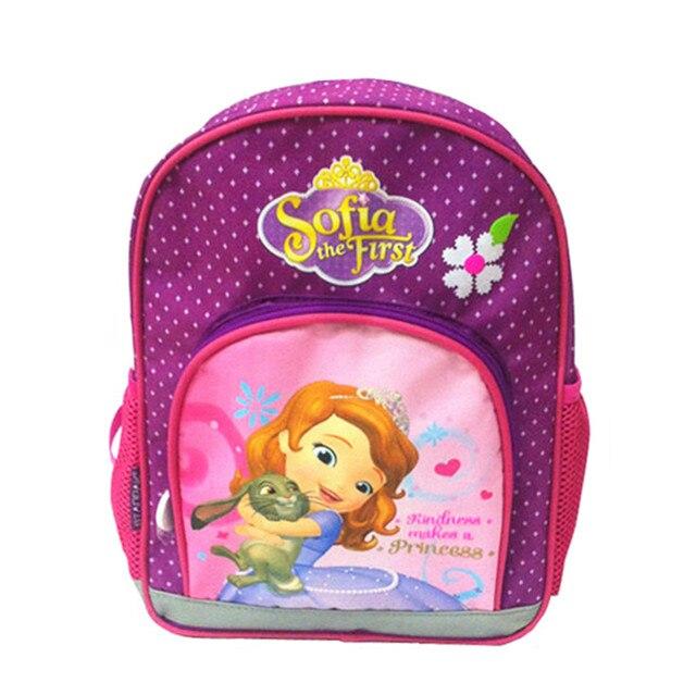 Cute Princess Sofia The First Backpack Kids Bag Kindergarten Preschool  Backpacks Schoolbag Children School Bags for Girls dcd41dec80