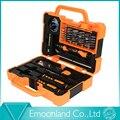 2015 Estilo Profesional Herramientas Multi 45 en 1 Kit de la Mano apertura Kit de Reparación de Herramientas Destornillador Fijado Para el iphone Sumsang Envío gratis