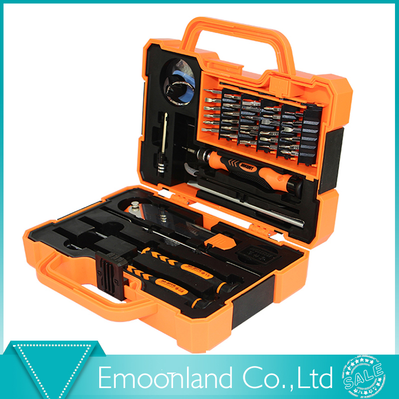 ФОТО 2015 Style Professional Multi Tools 45 in 1 Kit Hand Opening Repair Tool Kit Screwdrivers Set For iPhone Sumsang Free Shipping