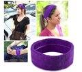 Yoga moda Venda Elástico Del Pelo Accesorios Para Damas Deporte Diadema Suave Headwrap 12 unids/lote Envío Gratis