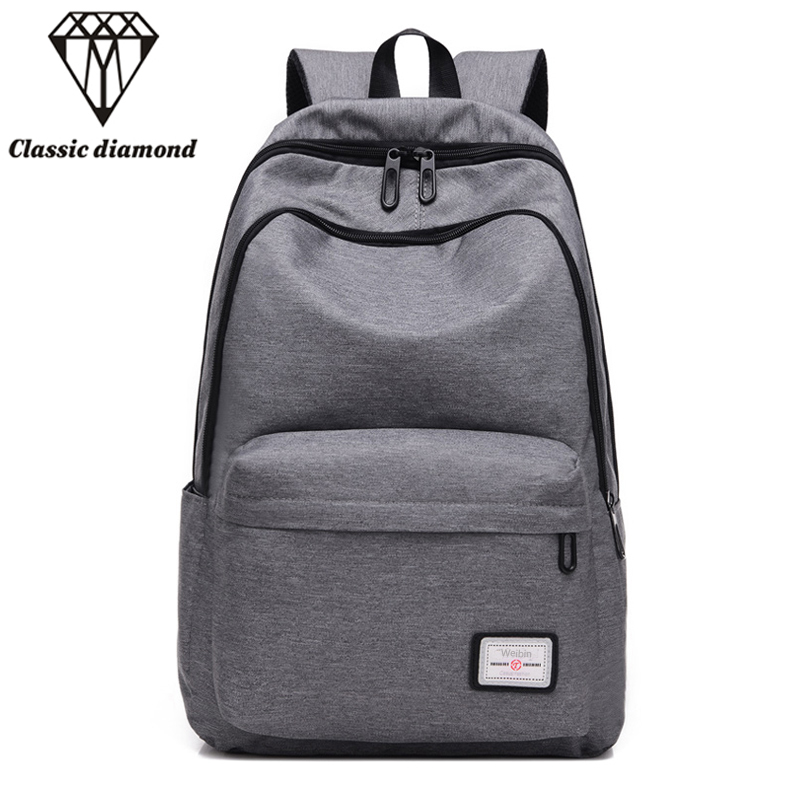 Casual Men's Backpack Men Backpacks School Bags For Teenagers Fashion Male Rucksack Mochila Escolar 15.6 Inch Laptop Bag 2017