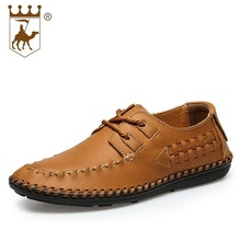 Men Pointed Toe Business Dress Shoes Male Lace-Up Oxford Genuine Leather Shoes Spring Autumn Breathable Wedding Shoes AA20572