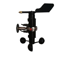 Transmisor de sensor de velocidad y dirección del viento integrado, 485, alta precisión, 16 direcciones, Veleta de dirección del viento