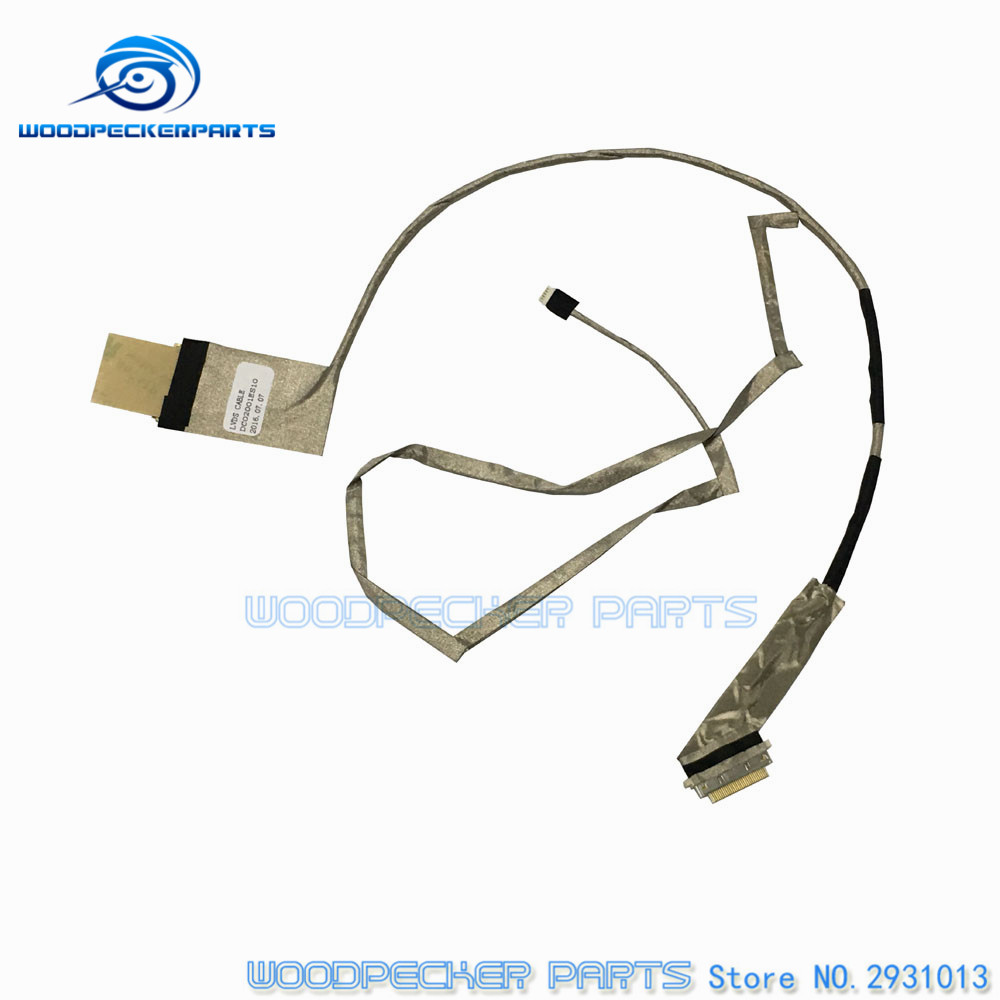 New Laptop LED LCD Screen VIDEO FLEX Ribbon Connect Cable For LENOVO G580 G585 G580A G480 G485 QIWG6 LVDS CMOS DIS DC02001ES00