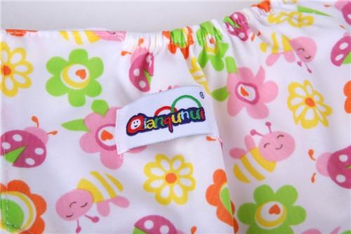 6pcs Lot Baby Diaper Children Cloth Diaper Reusable Nappy Cover Training Pants Washable Free Size QD24