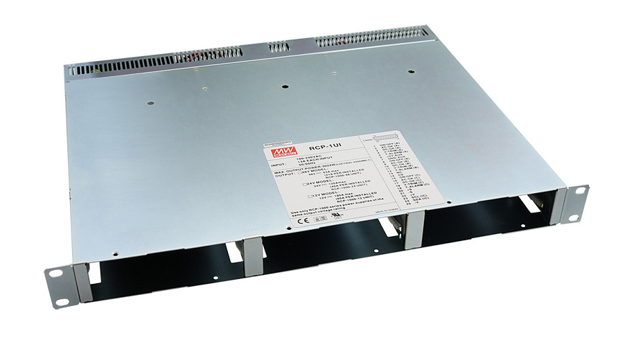 [PowerNex] MEAN WELL RCP 1UI Rack Shelf for RCP 1000 original 1000~3000W 1U Distributed Power System Meanwell RCP 1UI Rack Shelf