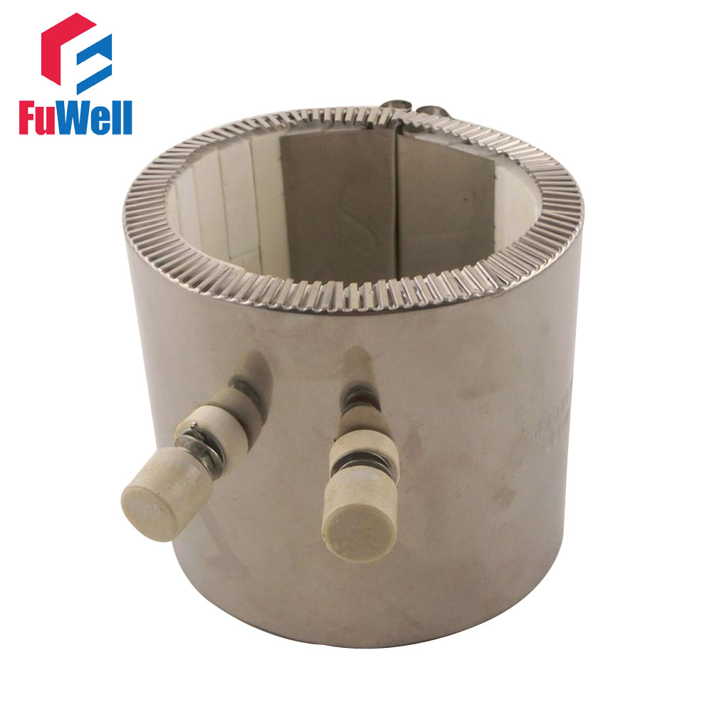 80*60mm 220V 750W Stainless Steel Electric Ceramic Band Heater Customized Welcomed80*60mm 220V 750W Stainless Steel Electric Ceramic Band Heater Customized Welcomed