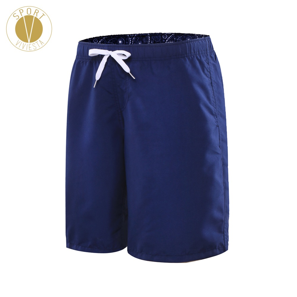 Drawcord Knee-Length Beach Surf   Shorts   - Men's Sport Gym Train Daily Elastic Band Swimming Trunks Briefs   Board   Sport Long   Shorts