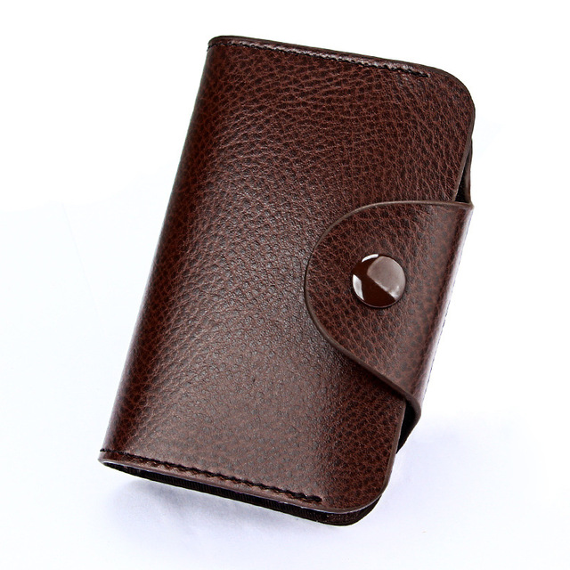 Men Leather Card Holder